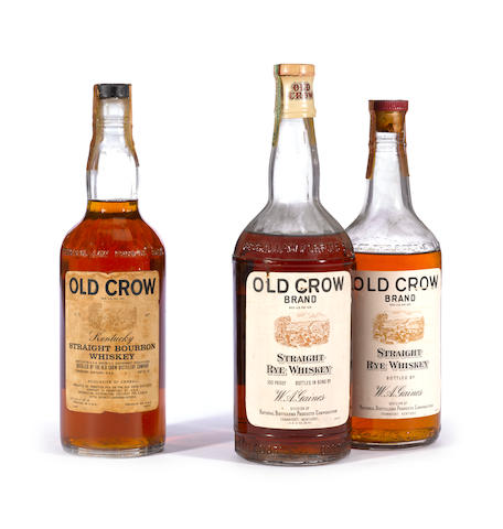 Old Crow Straight Rye Whiskey