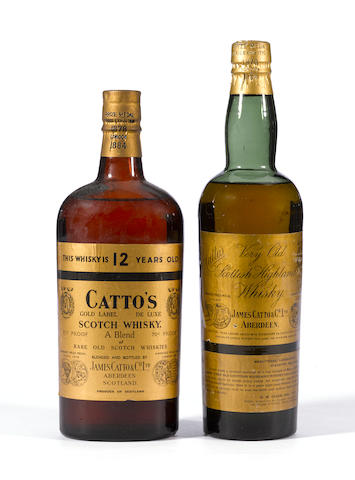 Catto's 12 years old (1)   Catto's Gold Label (2)   Something Special (1)