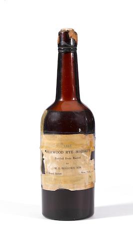 Sherwood Rye Whiskey 1885