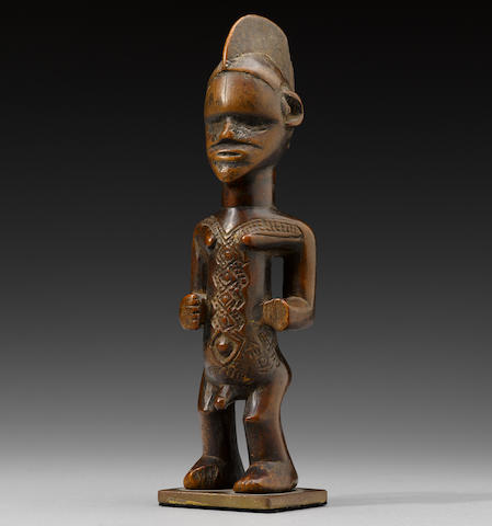Bembe Male Figure, Democratic Republic of the Congo