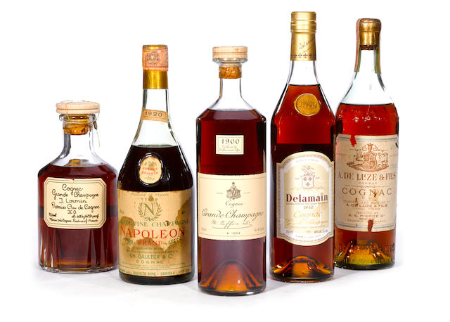 M. Tiffon Grande Champagne Cognac 1900