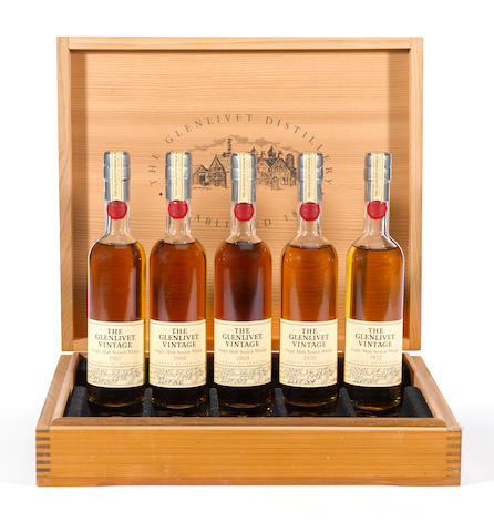 Glenlivet Vintages Set