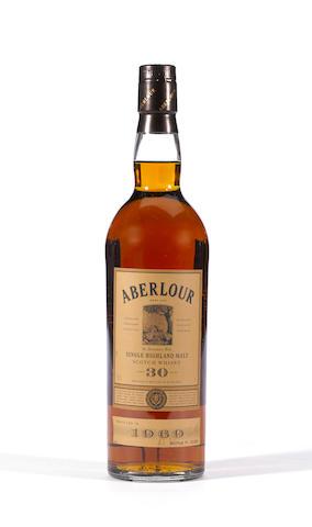 Aberlour 1969- 30 years old