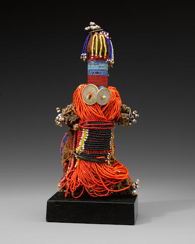 Kirdi Beaded Doll, Cameroon