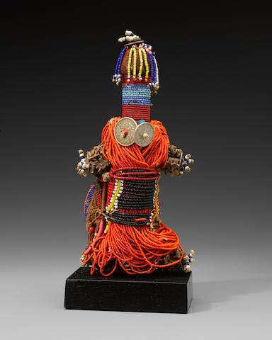 Kirdi Beaded Doll, Cameroon