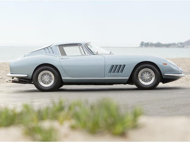 Matching numbers, factory 6C and torque-tube,1966 Ferrari 275 GTB/6C