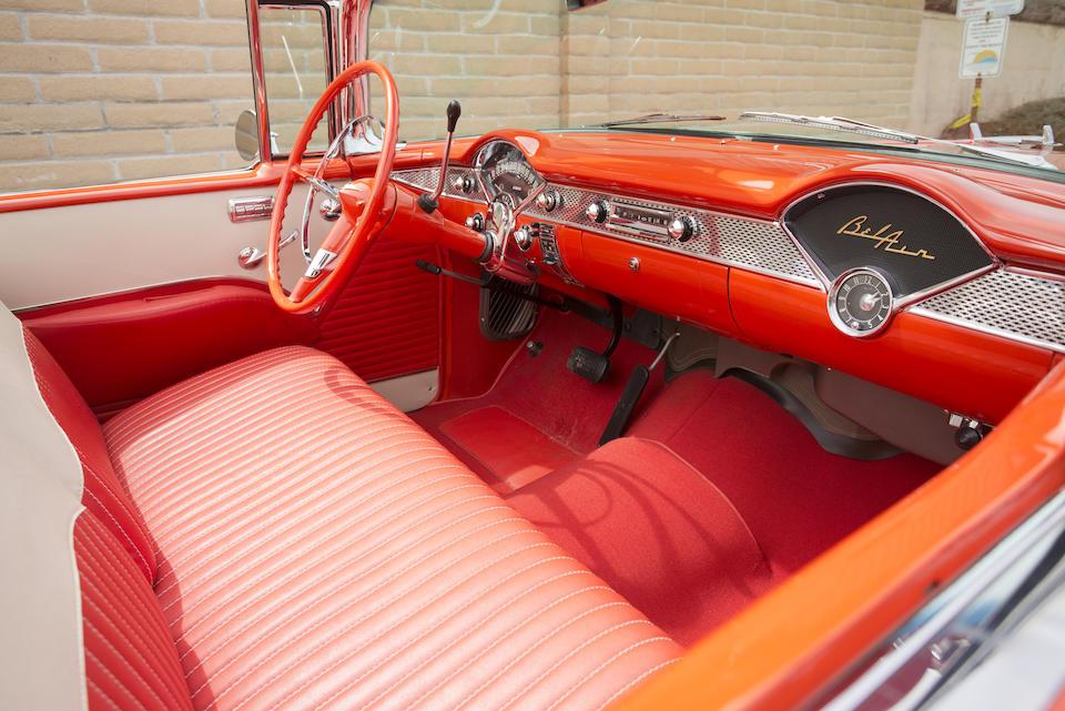 <b>1955 Chevrolet Bel Air Convertible  </b><br />Chassis no. VC55B112567