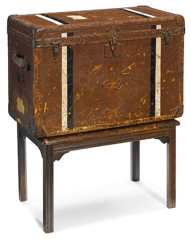 A Mary Pickford owned Louis Vuitton trunk