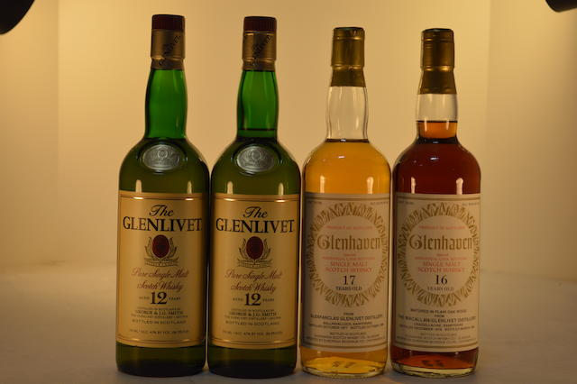 Glenlivet 12 years old (2)   Glenfarclas Glenlivet 1977- 17 years old (1)   Macallan-Glenlivet 1978- 16 years old (1)
