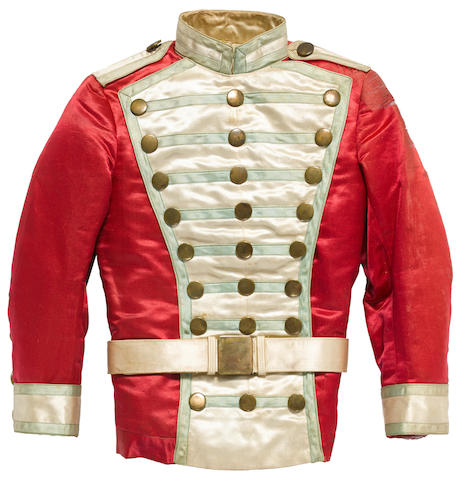 A Shirley Temple majorette jacket from Poor Little Rich Girl