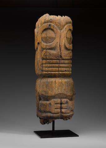 Large Half Figure, Marquesas Islands