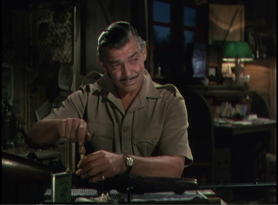 A Clark Gable personal wristwatch