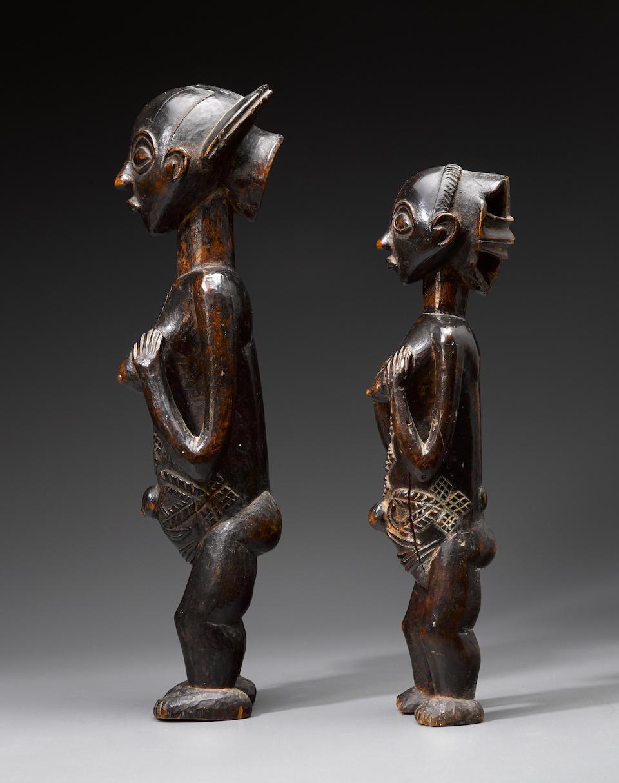 Luba Female Figure, Democratic Republic of the Congo