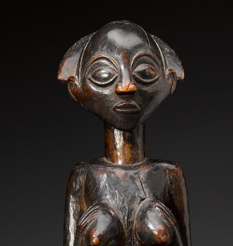 Luba Female Figure, Democratic Republic of the Congo