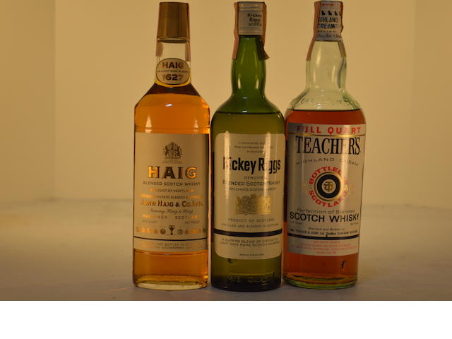 Haig 1627 (1)   Hickey Riggs (1)   Teacher's Highland Cream (1)
