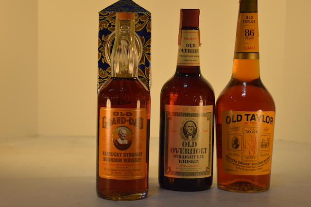 Old Grand Dad (1)   Old Taylor (1)   Old Overholt (1)