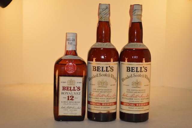 Bell's Royal Vat- 12 years old (1)   Bell's Special Reserve (2)
