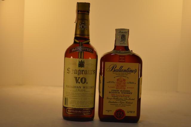 Ballantine's (1)   Seagram's VO (1)