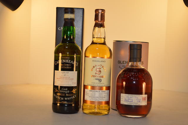Bladnoch 1980- 17 years old (1)   Brackla 1993-13 years old (1)   Glenrothes 1987- 12 years old (1)