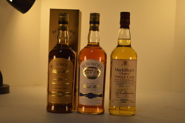 Bowmore 1989- 16 years old (1)   Bowmore 17 years old (1)   Bowmore 1984- 19 years old (1)