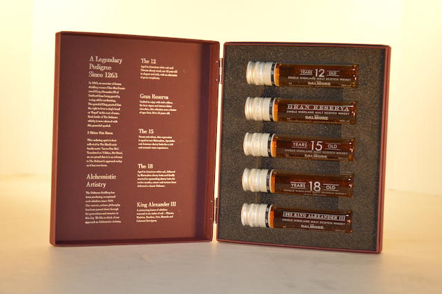 Dalmore 'Test Tube' Set