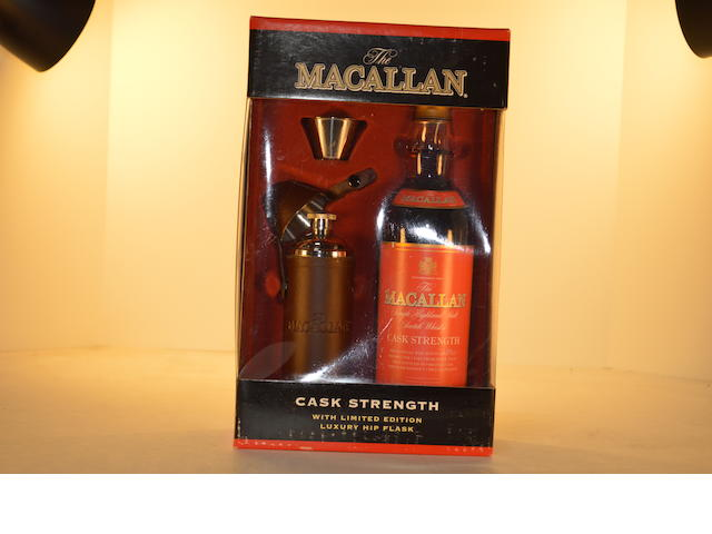 Macallan Cask Strength Gift Pack