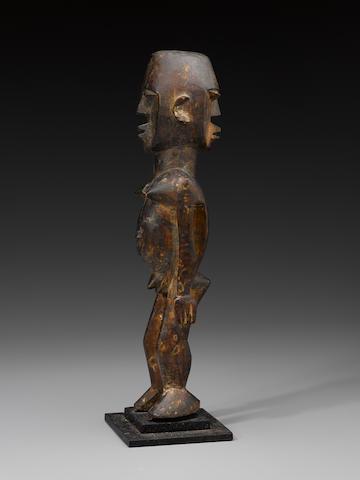Lobi Janus Figure, Burkina Faso