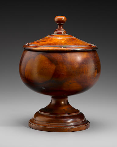 Rare Royal Wood Presentation Goblet, Hawaiian Islands