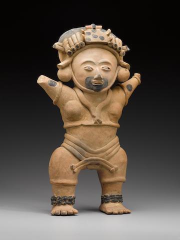 Veracruz Standing Priestess, Remojadas,Middle-Late Classic, ca. A.D. 400 - 900