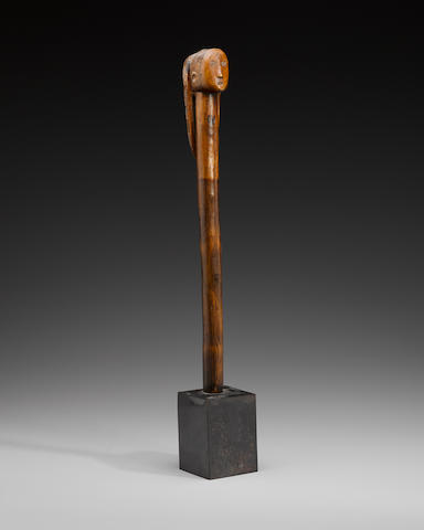 Ovimbundu Staff with Head Finial, Angola