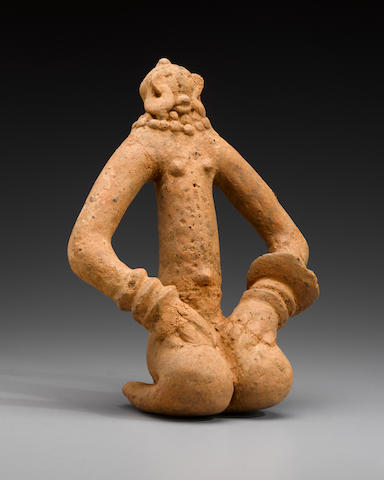 Bankoni Seated Figure, Region of Ségou, Mali