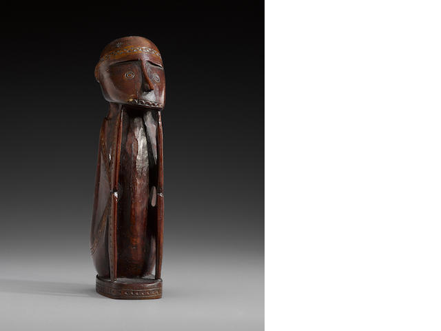 Massim Island Figure, Trobriand Islands