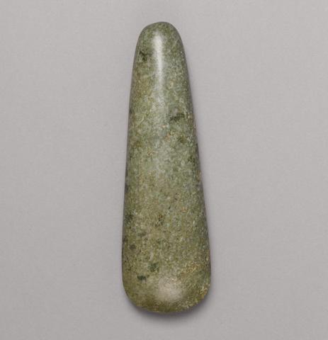 Olmec Celt, Middle Preclassic, ca. 900 - 600 B.C.