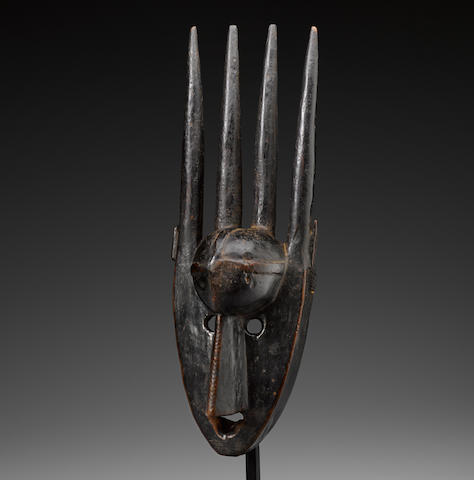 Bamana Mask, probably Ségou Region, Mali