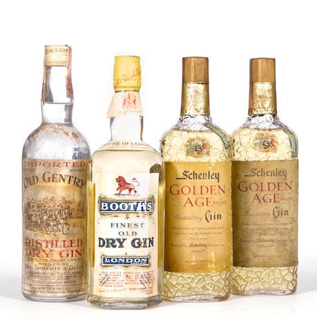Schenley Golden Age Gin (2)