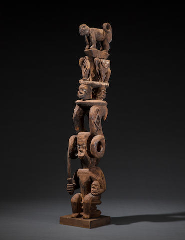 Ibo Shrine Figural Group, Nigeria