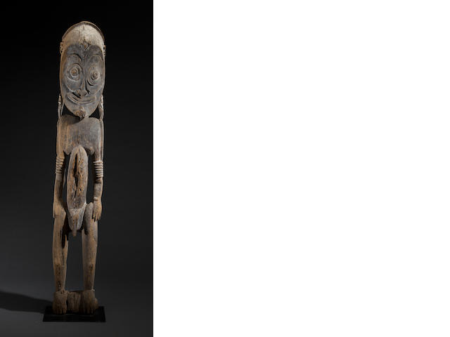 Large Sawos Male Ancestral Figure, East Sepik Province, Middle Sepik River, Papua New Guinea