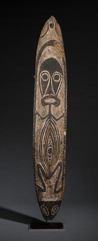 Wapo Spirit Board, Wapo River, Gulf Province, Papua New Guinea