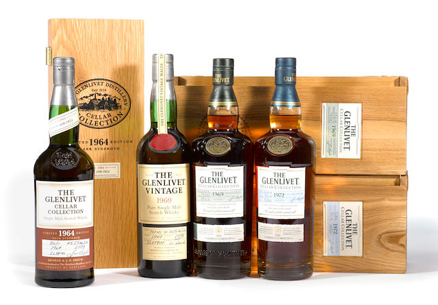 Glenlivet Cellar Collection 1972
