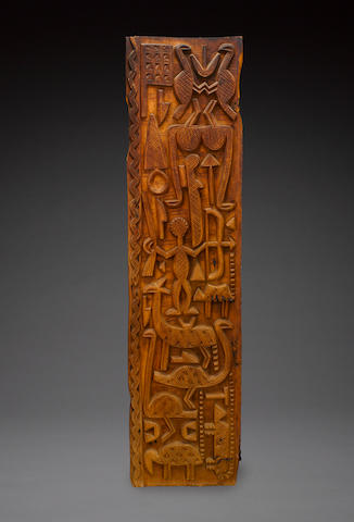 Nupe Door, possibly by Sakiwa the Younger, Nigeria