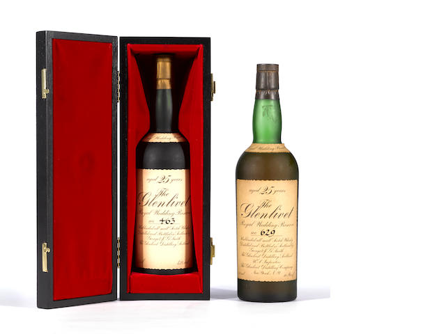 Glenlivet Royal Wedding Reserve 25 years old