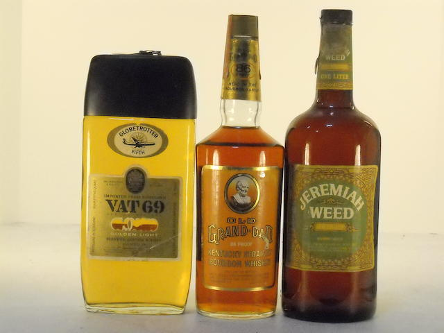 Vat 69 Golden Light (1)   Old Grand Dad (1)   Jeremiah Weed (1)