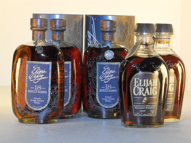 Elijah Craig Barrel Proof 12 years old (2)   Elijah Craig Single Barrel 18 years old (3)