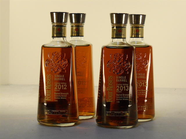 Four Roses Barrel Strength (4)   Four Roses Single Barrel (3)
