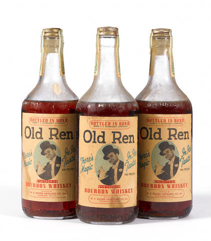 Old Ren Bourbon Whiskey