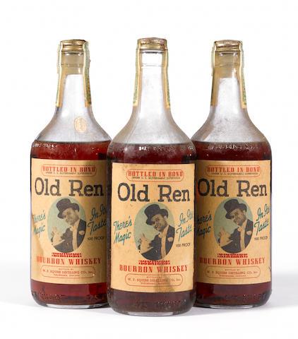 Old Ren Bourbon Whiskey