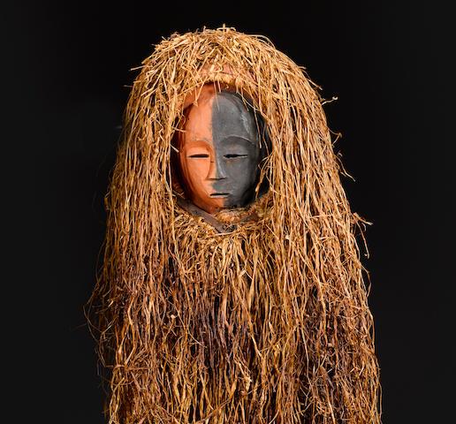 Dance Mask, possibly Bavili or Galwa, Gabon
