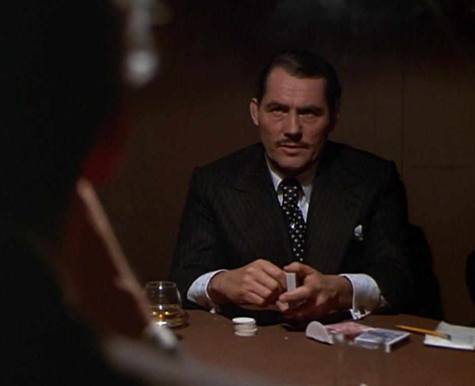 A Robert Shaw suit and tie from The Sting