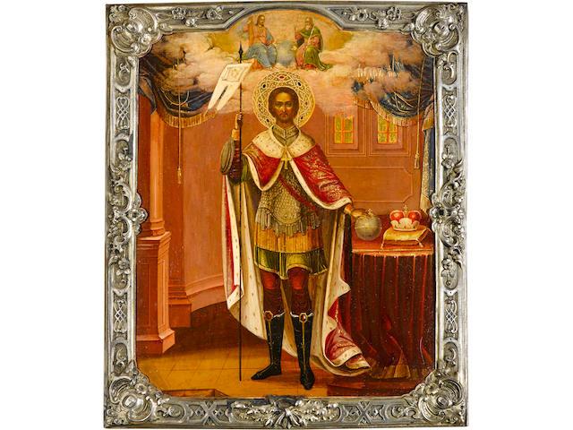 Icon of Saint Alexander Nevsky (930)