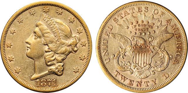 1871-S $20